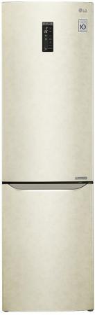 Холодильник LG GA-B499ZECZ бежевый холодильник lg ga b499yeqz бежевый