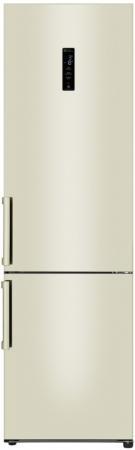 Холодильник LG GA-B509BEDZ бежевый холодильник lg ga b499yeqz бежевый