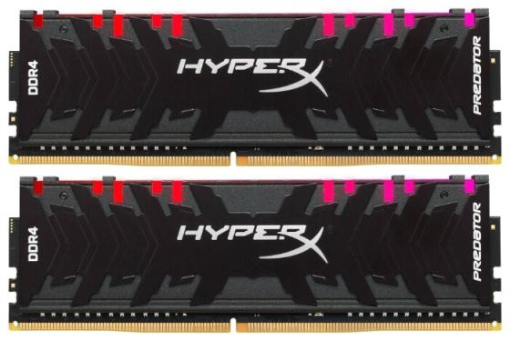 Купить Модуль памяти DDR4 Kingston 16Gb 3000MHz HyperX PREDATOR RGB CL15 XMP [HX430C15PB3AK2/16]