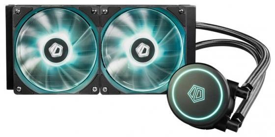 Комплект водяного охлаждения ID-COOLING AURAFLOW X 240 LGA2066/2011/1366/1151/50/55/56/TR4/AM4/FM2/+/FM1/AM3/+/AM2/+/ (6шт/кор,TDP 250W, RGB FAN and PUMP, PWM, DUAL FAN 120mm) RET комплект водяного охлаждения id cooling auraflow x 120 lga2066 2011 1366 1151 50 55 56 tr4 am4 fm2 fm1 am3 am2 12шт кор tdp 200w rgb fan and pump pwm fan 120mm ret