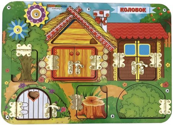 Бизиборд Woodland Колобок