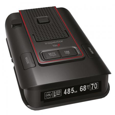 Радар-детектор Inspector RD Tau S GPS приемник