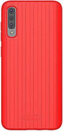 Чехол (клип-кейс) Samsung для Samsung Galaxy A70 araree Airdome красный (GP-FPA705KDBRR)