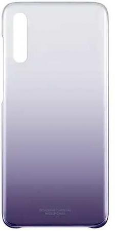 Чехол (клип-кейс) Samsung для Samsung Galaxy A70 Gradation Cover фиолетовый (EF-AA705CVEGRU) клип кейс samsung gradation cover для samsung galaxy j4 2018 золотистый