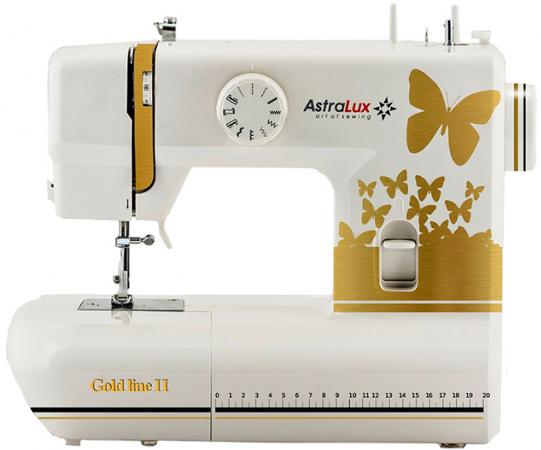Швейная машина Astralux Gold Line II белый цена и фото