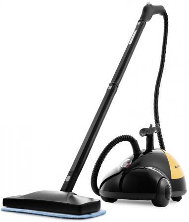 Пароочиститель KITFORT КТ-931 1500Вт оранжевый чёрный пароочиститель kitfort кт 1001