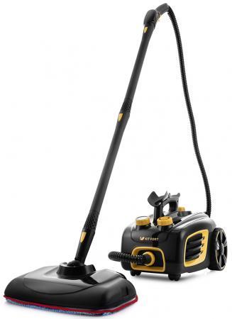 Пароочиститель KITFORT КТ-932 1500Вт чёрный оранжевый пароочиститель kitfort кт 1001
