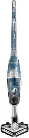 Пылесос Tefal TY8971RO сухая уборка голубой серебристый пылесос lg vk76a01nds сухая уборка серебристый