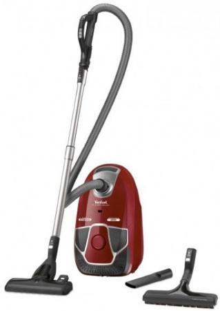 Пылесос Tefal TW6843EA 2200Вт красный/черный пылесос tefal tw3724ra черный оранжевый