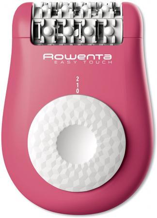 Эпилятор Rowenta Easy Touch EP1110 белый розовый эпилятор iluminage touch me soft 200k mehu fg00501