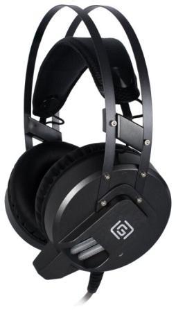 Наушники с микрофоном Oklick HS-L550G черный 2.2м мониторы оголовье наушники с микрофоном oklick hs l310g