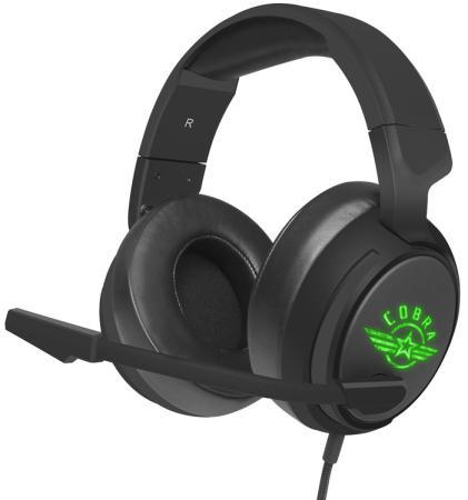 цена на Игровая гарнитура проводная Oklick HS-L950G черный