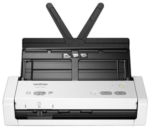 Сканер Brother ADS-1200 (ADS1200TC1) A4 серый/черный сканер brother ads 1600w ads1600wr1