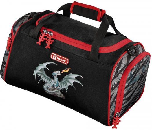 цена на Сумка спортивная Универсальная Step by Step Fire Dragon полиэстер черно-красный 138970