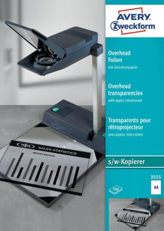 Пленка Avery Zweckform K 3555 A4/196г/м2/100л./прозрачный самоклей. для лазерной печати цена