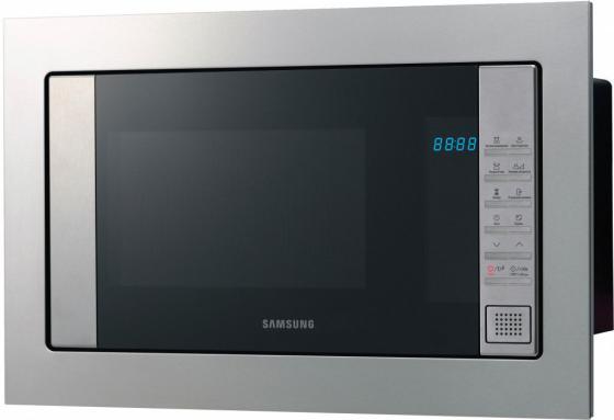 лучшая цена Встраиваемая микроволновая печь Samsung FG77SUT/BW 850 Вт серебристый