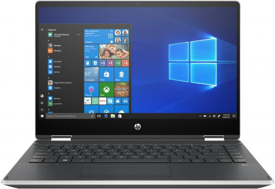 "HP Pavilion 14x360 14-dh0002ur (Msft modern) 14""(1920x1080 IPS)/Touch/Intel Core i3 8145U(2.1Ghz)/4096Mb/HDD 1TB 5400RPM + Optane 16GB M2 PCIe-3x2 3D Xpoint Gb/noDVD/Int:Intel UHD Graphics/war 1y/Natural Silver/W10 ноутбук hp pavilion 14 ce0006ur 4gq98ea core i3 8130u 4gb 1tb 16gb optane 14 0 fullhd win10 silver"