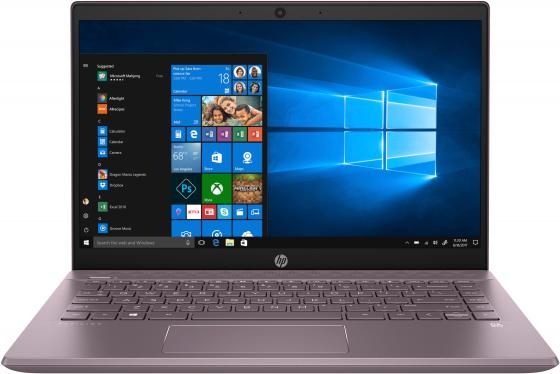 "Ноутбук HP Pavilion 14-ce2019ur 14"" 1920x1080 Intel Core i3-8145U 256 Gb 4Gb Bluetooth 5.0 Intel UHD Graphics 620 сиреневый Windows 10 Home 6SQ10EA ноутбук hp pavilion 14 bf005ur 14"