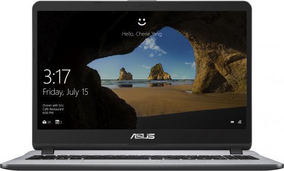 Ноутбук ASUS VivoBook X507UF-BQ364T 15.6 1920x1080 Intel Core i3-7020U 256 Gb 6Gb nVidia GeForce MX130 2048 Мб серый Windows 10 Home 90NB0JB1-M04340 ноутбук
