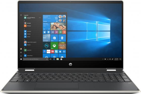 Ноутбук HP Pavilion 15x360 15-dq0001ur 15.6 1920x1200 Intel Core i3-8145U 256 Gb 4Gb Bluetooth 5.0 Intel UHD Graphics 620 золотистый Windows 10 Home 6PS43EA ноутбук hp pavilion x360 15 dq0000ur core i3 8145u silver 6ps44ea
