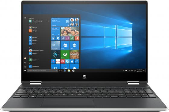 Ноутбук HP Pavilion x360 - 15-dq0002ur 15.6 1920x1080 Intel Core i5-8265U 256 Gb 8Gb Bluetooth 5.0 Intel UHD Graphics 620 серебристый Windows 10 Home 6PS40EA