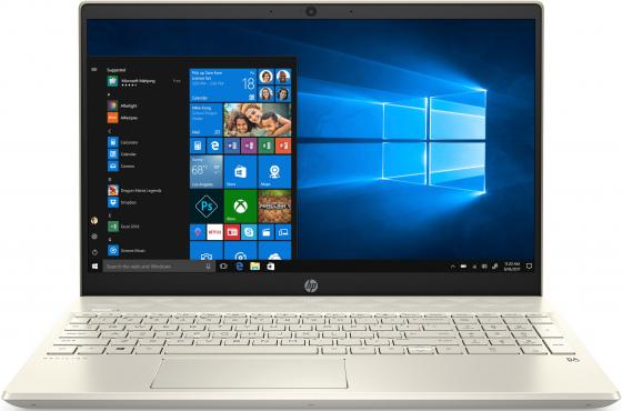 Ноутбук HP Pavilion 15-cs2019ur 15.6 1920x1080 Intel Core i3-8145U 256 Gb 4Gb Intel UHD Graphics 620 золотистый Windows 10 Home 6SQ16EA 15 6 ноутбук hp pavilion 15 cs2019ur 6sq16ea золотистый
