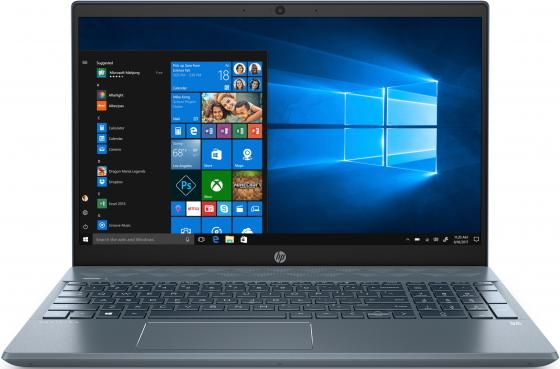 Ноутбук HP Pavilion 15-cs2018ur 15.6 1920x1080 Intel Core i3-8145U 256 Gb 4Gb Intel UHD Graphics 620 синий Windows 10 Home 6SQ17EA ноутбук hp pavilion x360 15 dq0000ur core i3 8145u silver 6ps44ea