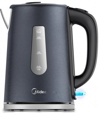 Чайник электрический Midea MK-8060 2200 Вт 1.7 л нержавеющая сталь