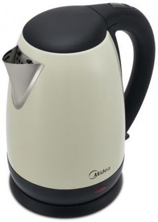 Чайник электрический Midea MK-8041 2200 Вт слоновая кость 1.7 л нержавеющая сталь цены