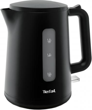Чайник Tefal KO200830 2400 Вт чёрный 1.7 л пластик чайник tefal ki 330d