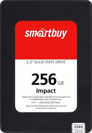 Купить Твердотельный накопитель SSD 2.5 256GB Smartbuy Impact 256GB SATA3 PS3112 DRAM 3D TLC (SBSSD-256GT-PH12-25S3), Smart Buy