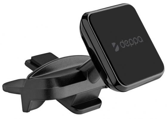 цена на Автомобильный держатель Deppa Mage CD mini для смартфонов, магнитный, крепление в CD-слот