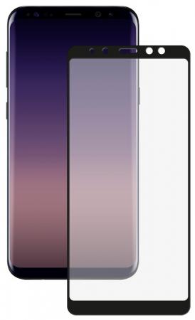 Защитное стекло 3D Deppa для Samsung Galaxy A8+ (2018), 0.3 мм, черное защитное стекло 3d deppa 62037 для apple iphone 7 plus 0 3 мм черное