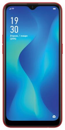 Смартфон Oppo A1k красный 6.1 32 Гб LTE Wi-Fi GPS 3G Bluetooth CPH1923 смартфон bq aquaris u2 черный 5 2 16 гб nfc lte wi fi gps 3g c000291
