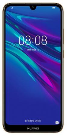 Смартфон Huawei Y6 2019 коричневый 6.09 32 Гб LTE Wi-Fi GPS 3G Bluetooth 51093KWT смартфон huawei nova 2 золотистый 5 64 гб lte wi fi gps 3g 51091tns