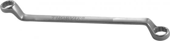 Ключ гаечный накидной изогнутый THORVIK W23032 серия ARC 30х32 мм ключ гаечный разрезной thorvik arc w40608 6 х 8 мм