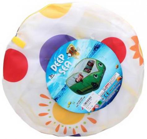 Палатка игровая Веселая машинка, сумка на молнии