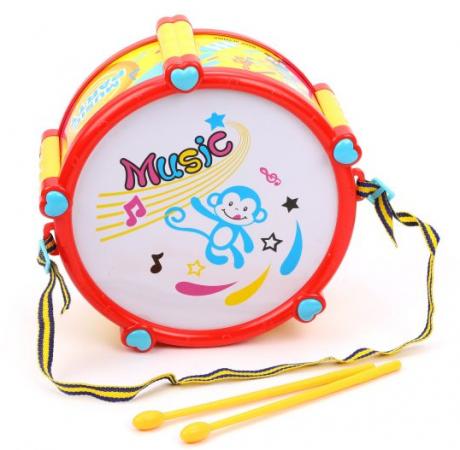 Музыкальная игрушка Наша Игрушка Барабан
