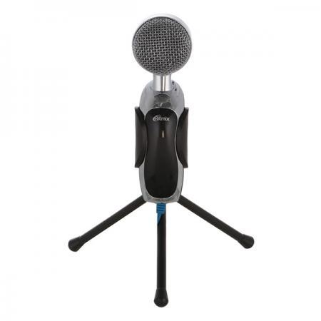 Микрофон RITMIX RDM-127 USB Black {50Hz-16kHz, -30±3dB (0dB=1V / Pa на 1kHz)} rolsen rdm 100 black