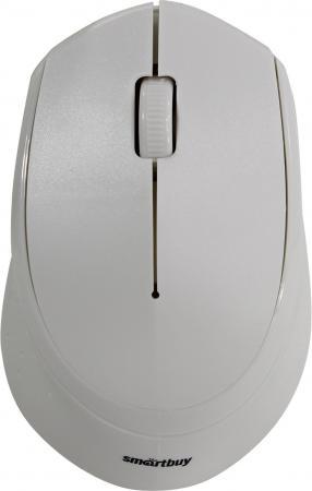 Мышь беспроводная Smartbuy ONE 333AG-W белая [SBM-333AG-W] smartbuy sbm 309ag wl white lemon беспроводная мышь