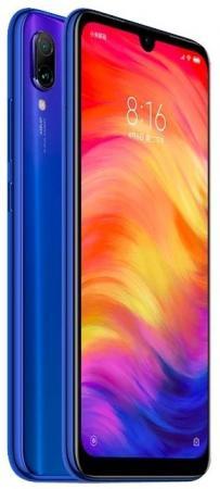 Смартфон Xiaomi Redmi Note 7 синий 6.3 32 Гб LTE Wi-Fi GPS 3G Bluetooth 620709 смартфон