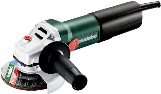 Metabo WQ1100-125УШМ [610035010] {1100вт,125мм,Quick,картон}