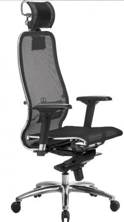 """Кресло """"Samurai S-3.03"""" с 3D подголовником , Черный [4665302684356] цена и фото"""