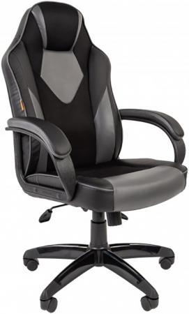 Офисное кресло Chairman game 17 Россия экопремиум черный/серый (7024558)