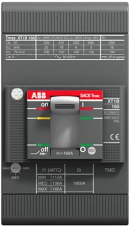 ABB 1SDA066806R1 Выключатель автоматический XT1B 160 TMD 80-800 3p F F