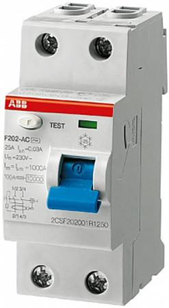 Выключатель дифференциального тока Abb 2CSF202001R0160 выключатель abb cosmo 10 a белый 619 010200 203