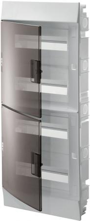 ABB 1SLM004101A2208 Бокс в нишу Mistral41 48М прозрачная дверь (c клемм)