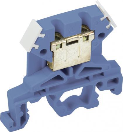 Iek YZN10-004-K07 Зажим наборный ЗНИ-4мм2 (JXB 35 А) синий        ИЭК