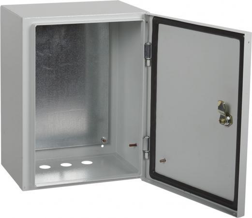 цена IEK YKM40-01-54-L Корпус металлический ЩМП-1-3 76 У2 IP54 LIGHT {395x300x220}