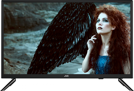 Фото - Телевизор 24 JVC LT-24M585 черный 1366x768 60 Гц Smart TV Wi-Fi 3 х HDMI 2 х USB RJ-45 CI телевизор led 32 samsung ue32t4500auxru черный 1366x768 60 гц smart tv wi fi usb rj 45